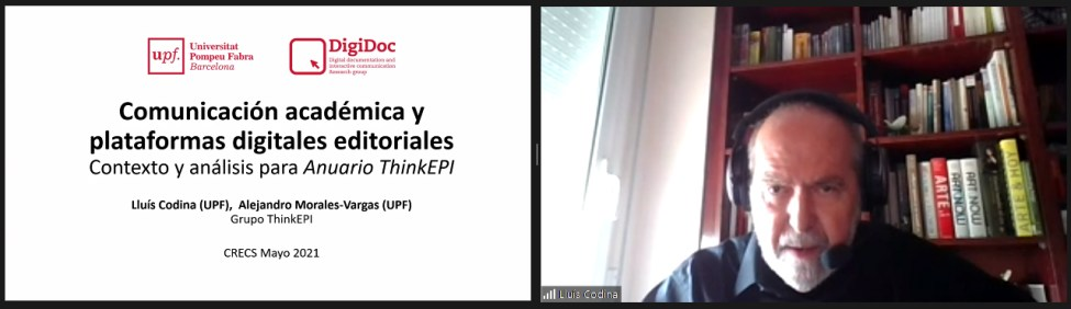 Lluís Codina, UPF