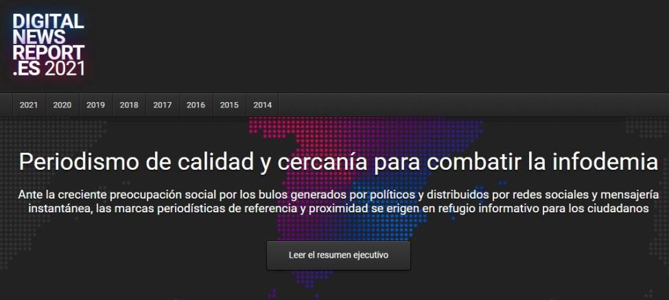Digital News Report España 2021