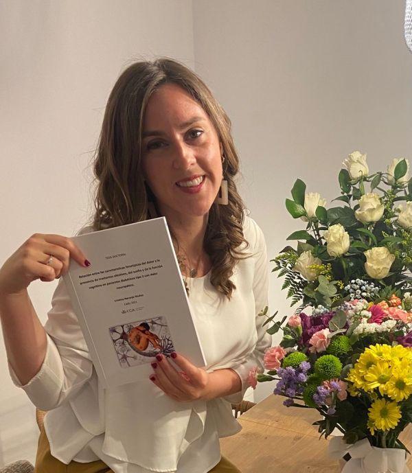 Distinción Cum Laude para nuestra compañera Cristina Naranjo Muñoz