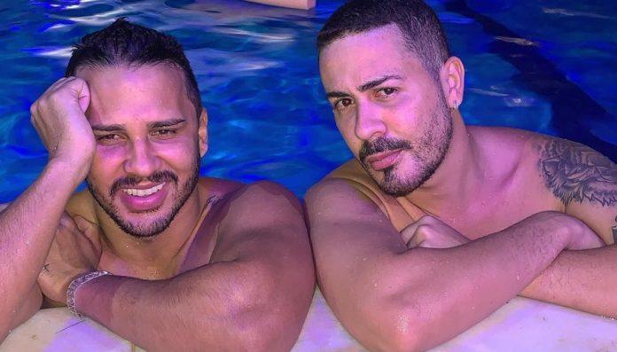 Lucas Guimarães e Carlinhos Maia