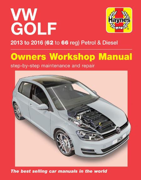 VW Golf 13 to 16 w450