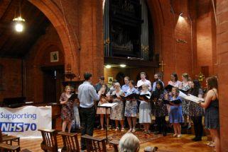 NHS70 celebrations (Oxford Brookes Nursing _ Midwifery Choir)