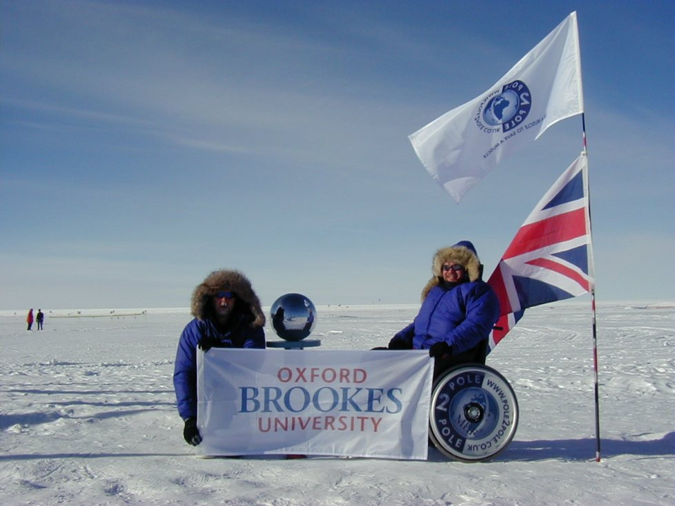 Michael McGrath at South Pole