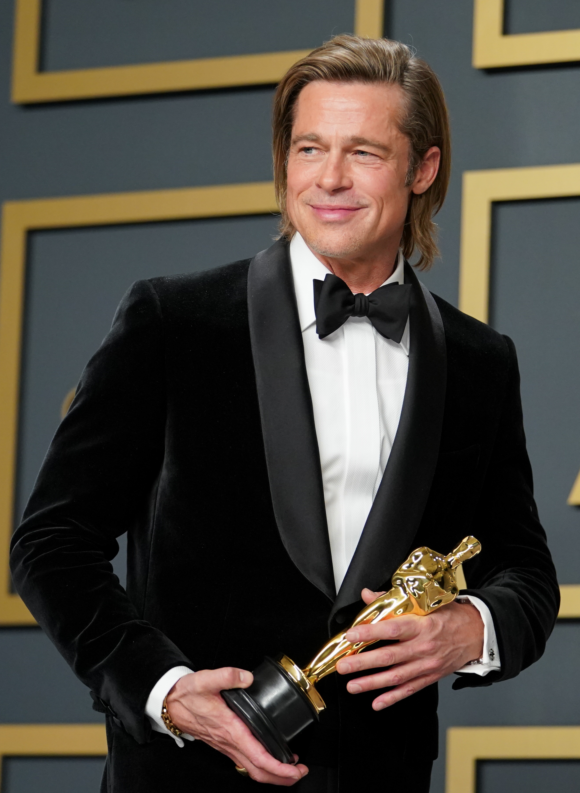 No, Brad Pitt Reassures Us, He Did Not Hire a Speechwriter for the Oscars