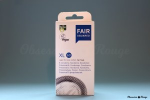 fair squared vegan XL condoms
