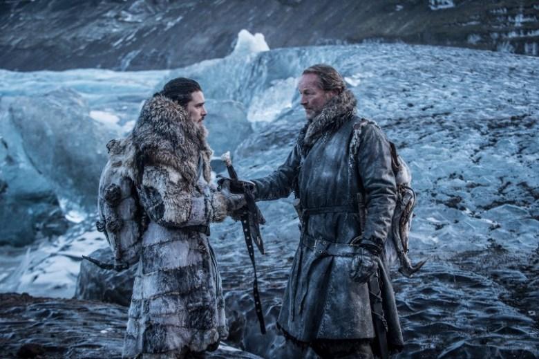 Beyond the Wall - Jon Snow and Jorah Mormont