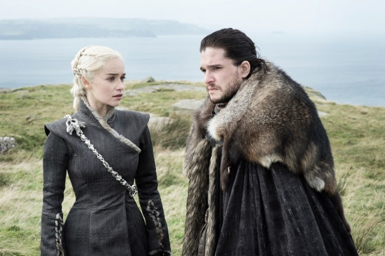Eastwatch: Daenerys and Jon Snow