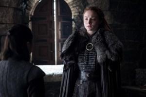 Beyond the Wall - Arya and Sansa Stark