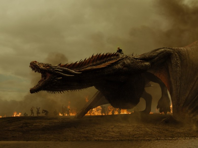 The Spoils of War - Daenerys on Drogon