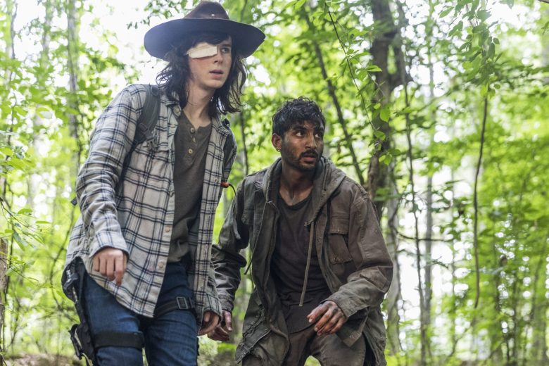 The King, The Widow, and Rick: Carl and the stranger