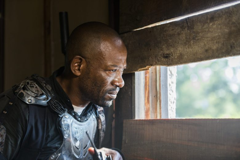 Time For After: Morgan looks on the Sanctuary