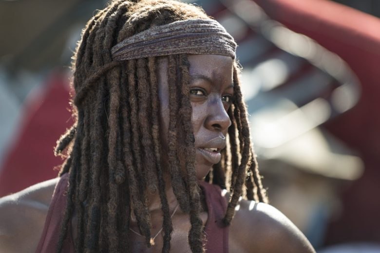 Michonne in The Lost and The Plunderers