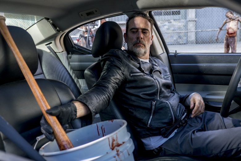 The Key - Negan soaks Lucille