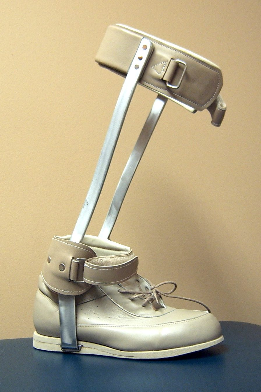 Conventional AFO with T-strap