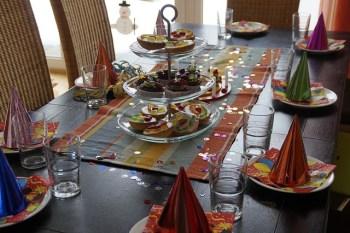 Dzieci na weselu - stół dla dzieci