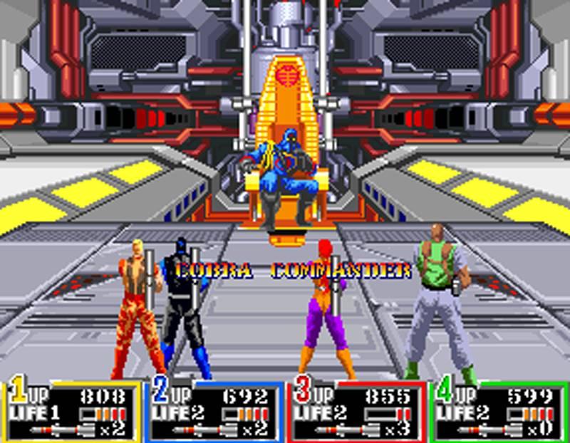 G I Joe Game Super Nintendo Arcade Game