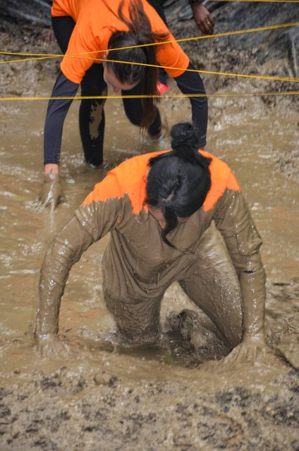 mise en boue - sale