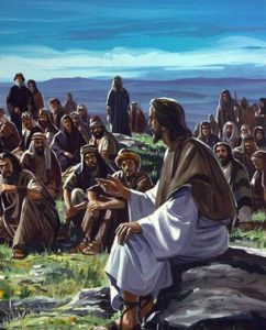 Jesus taught with parables.