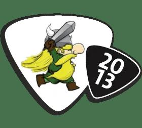 Logo Strong Viking Run 2013
