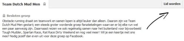 Facebook Team Dutch Mud Men
