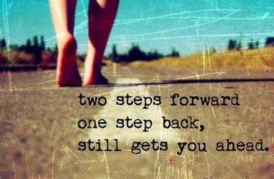 een stap vooruit