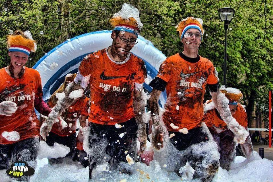 Foto's Mudrun Fun Foam Fest