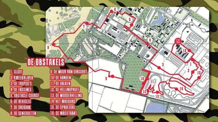 Route Army Urban Run