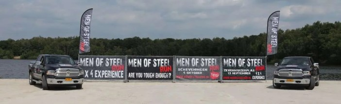 Men of Steel run 4 wheel drive