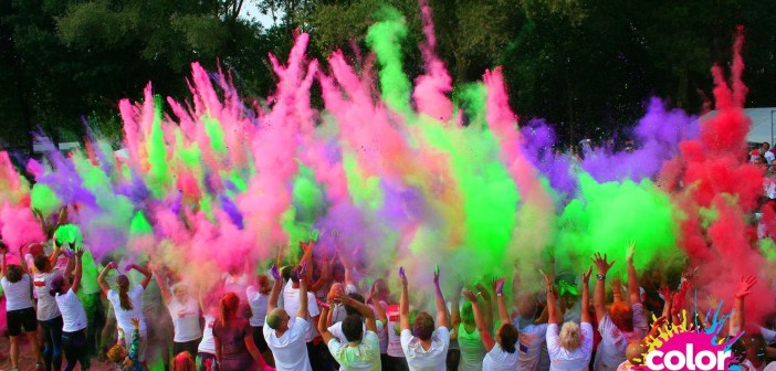 color obstacle run