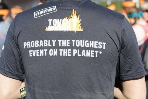 Tough Mudder Finisher Shirt
