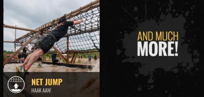 Obstakels van Mud Masters