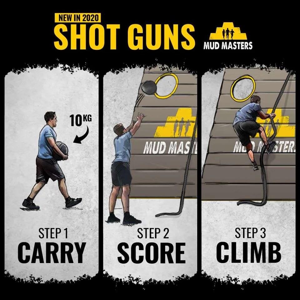 shot guns mud masters