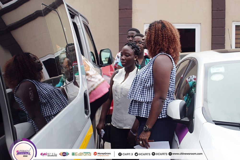 Citi FM's Literacy challenge finalists begin camping today