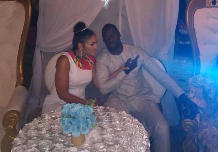 Ghanaian actor Chris Attoh marries again [Photos]