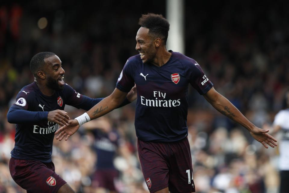 Fulham 1-5 Arsenal: Unai Emery's side make it nine wins in a row