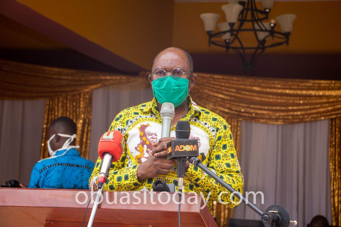 Dr. Thomas Agyarko Opoku, the Executive Director for Otumfuo Osei Tutu II Charity Foundation