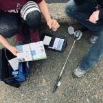 L'équipe de l'OBVAJ teste la qualité de l'eau