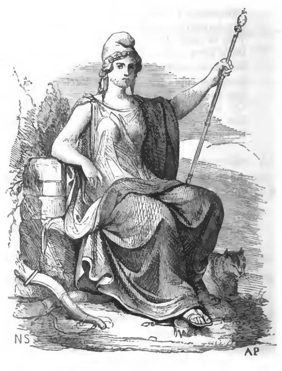 Corso di mitologia, o, Storia delle divinità e degli eroi del paganesimo:  Per la spiegazione dei classici e dei monumenti di belle arti (3e éd.) —  Mythographie, OBVIL