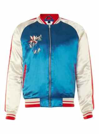 PURCHASE: TopMan Red, White And Blue Embroidered Jacket