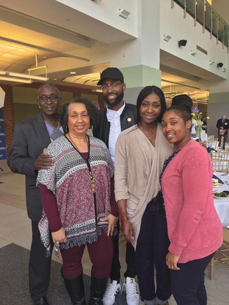Mychael Knight and his family
