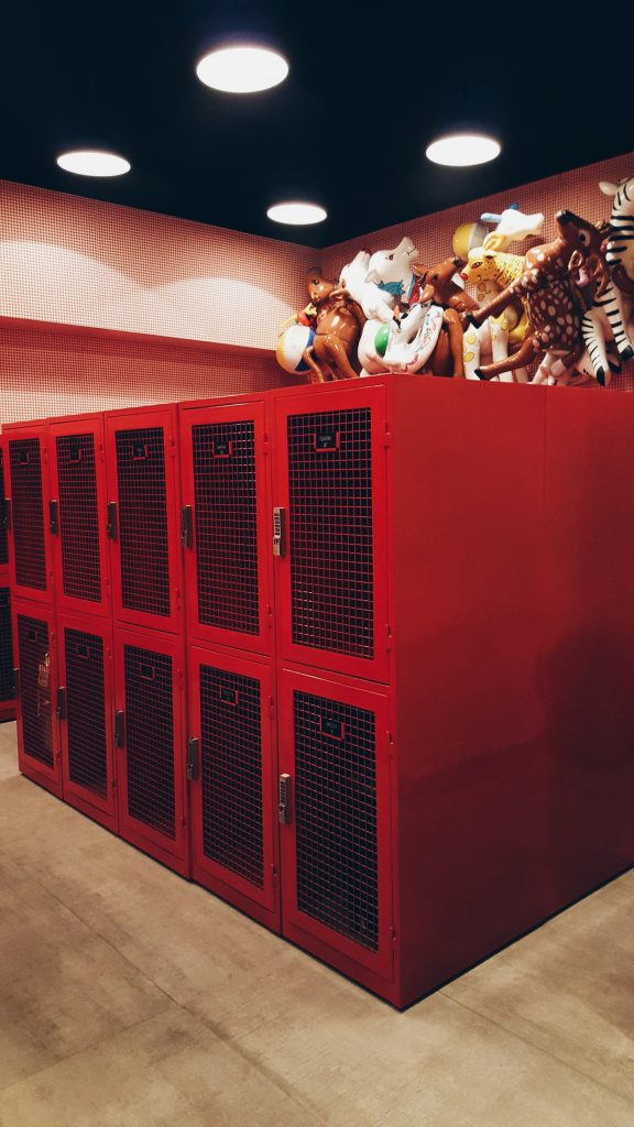 Rove Hotel Storage Lockers