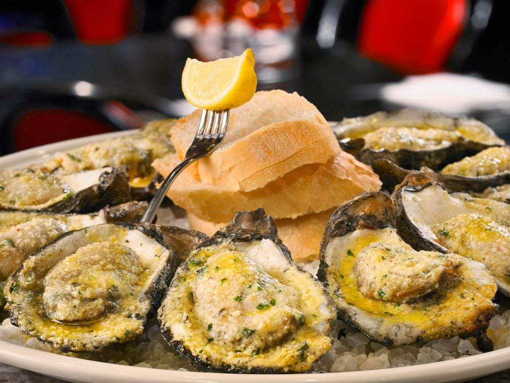Desire Oyster Bar - Chargrilled Oysters