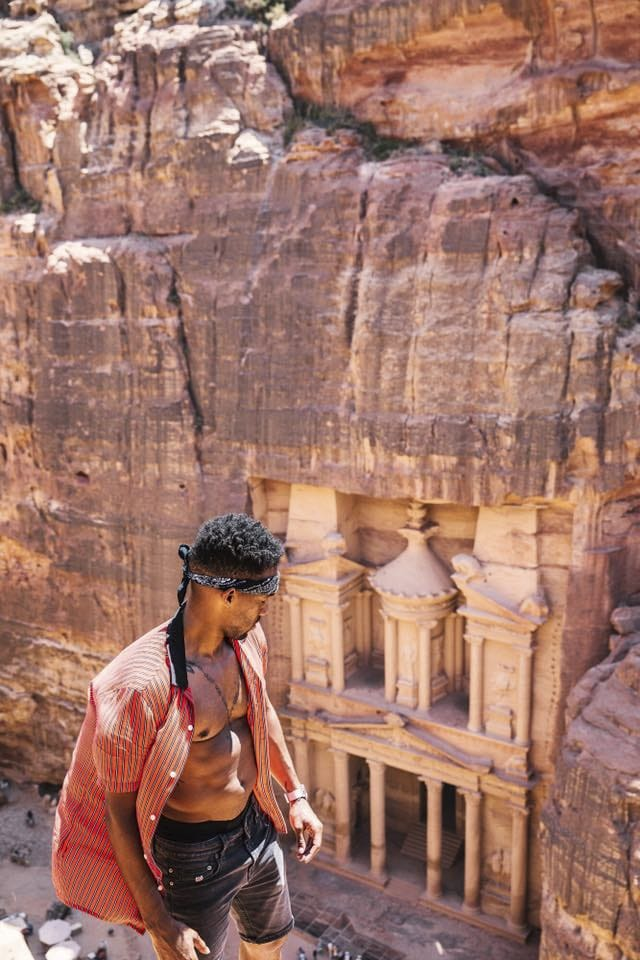 Timothy Hunt in Jordan