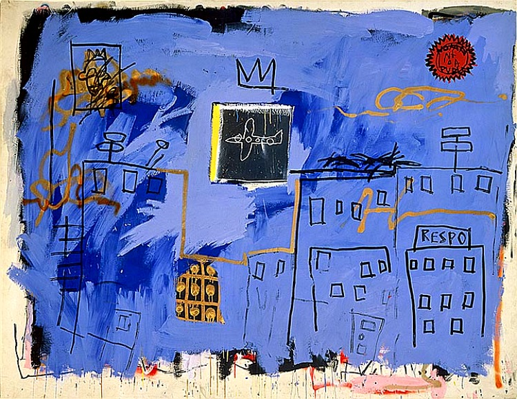 Resultado de imagem para jean michel basquiat Cortesia The Stephanie e Peter Brant Foundation, Greenwich,