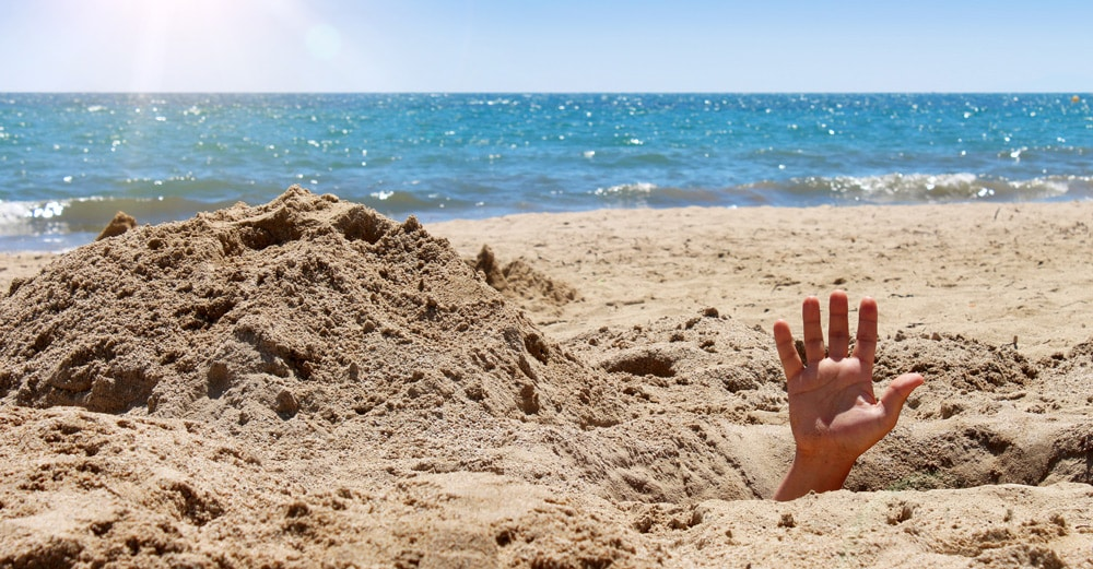 Dangers of Digging in the Sand