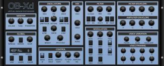OB-Xd 1.3 Classic Theme