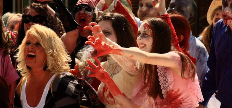 Zombies will take over Outer Banks Pier this Friday to film the first official OBX HorrorFest commercial. (photo: Artz Music & Photography)