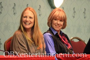 Amy Steel and Adrienne King at the 'Friday the 13th' panel at Blood at the Beach, Nov. 11, 2012 in Virginia Beach. (photo: OBXentertainment.com)