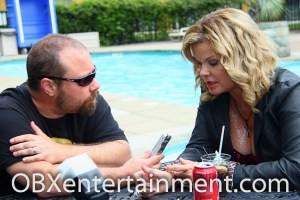 OBXentertainment.com Editor In Chief Matt Artz interviewed Amelia Kinkade ('Night of the Demons') at the Blood at the Beach III horror convention in Virginia Beach, VA, May 11, 2013.