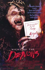 'Night of the Demons' (1988) - Movie Poster
